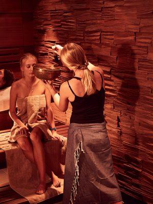 Osthitze Sauna